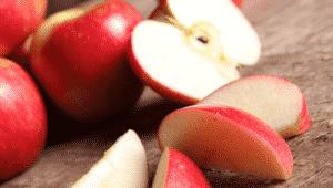 bolo de maçã saudável